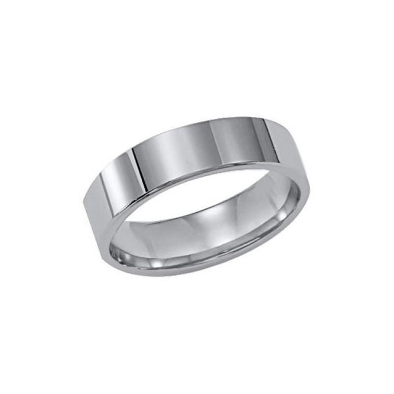Triton 6mm Tungsten Carbide Bright Polish Comfort Fit Band 11-01-2143