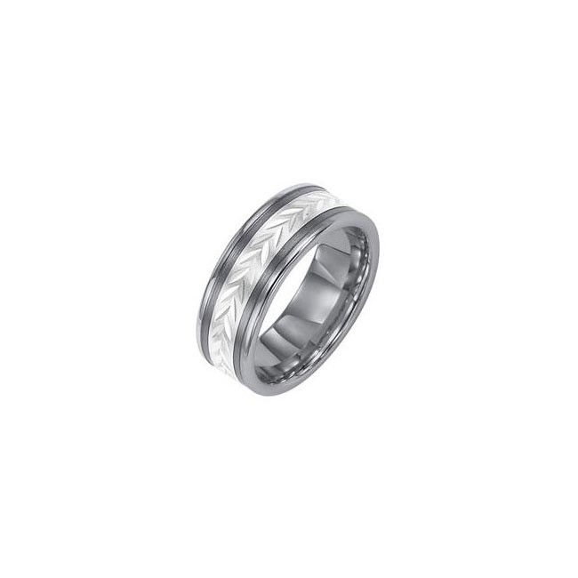 Triton 8mm Tungsten Carbide Comfort Fit Band 11-01-2228