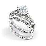 Stunning Zeghani Diamond Wedding Set