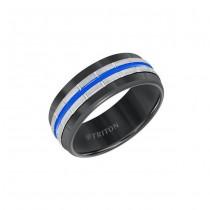 Triton 8mm Black Tungsten Carbide Band 11-01-5944