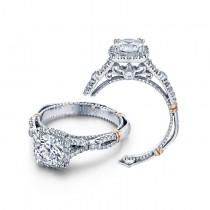 Verragio Halo Twist Engagement Ring