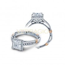 Verragio Parisian Collection Engagement Ring D-104P-GOLD