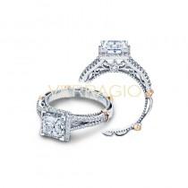 Verragio Parisian Collection Engagement Ring D-107P-GOLD