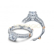 Verragio Parisian Collection Engagement Ring D-110R-GOLD