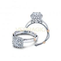 Verragio Parisian Collection Engagement Ring D-112CU-GOLD
