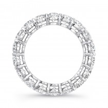 Uneek Platinum Oval Cut Diamond Eternity Band - ETOV500