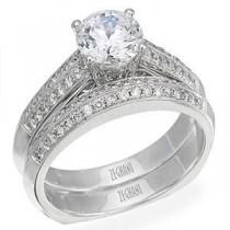Stunning Zeghani Diamond Bridal Set