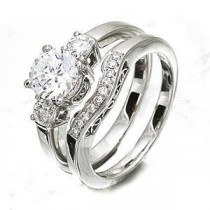Stunning Designer Diamond Bridal Set by Zeghani