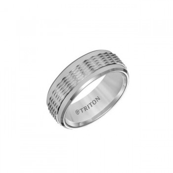 Triton 8mm Classic Tungsten Band 11-01-5938
