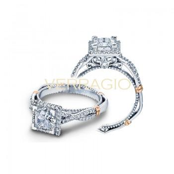 Verragio Parisian Collection Engagement Ring D-106P-GOLD