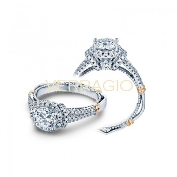 Verragio Parisian Collection Engagement Ring D-117R-GOLD