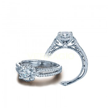 Verragio Split Shank Diamond Engagement Ring