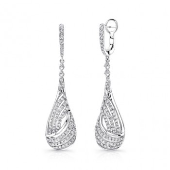 Uneek Dangle Diamond Earrings LVEW033W