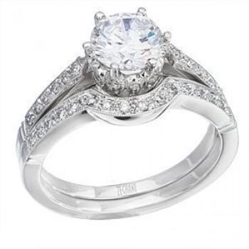 Elegant Zeghani Diamond Wedding Set