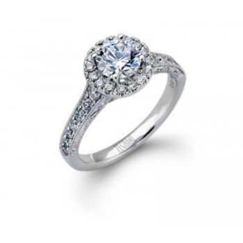Brilliant Zeghani Diamond Engagement Ring