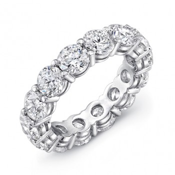 Uneek Round Diamond Eternity Band LVB1618